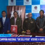 """Campaña nacional """"Un solo Perú"""" atiende a familias trujillanas"""