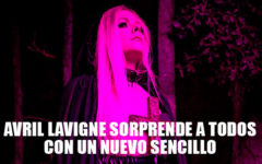 "Avril Lavigne regresa con el videoclip ""I fell in love with the devil"""