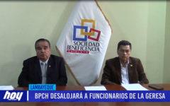 Chiclayo: BPCH desalojará a funcionario de la GERESA