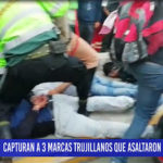 Chiclayo: Capturan a 3 marcas trujillanos que asaltaron a comerciante