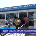 Chimbote: Debido a heladas amplían horario para escolares