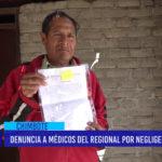Chimbote: Denuncia a médicos del Regional por negligencia médica