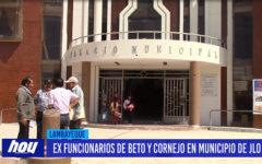 Chiclayo: Ex funcionarios de Beto y Cornejo en municipio de JLO