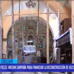 """Chiclayo: Fieles inician campaña para financiar la reconstrucción de Iglesia """"Santa Verónica"""""""