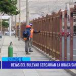 Chimbote: Rejas del bulevar cercarían la huaca San Pedro