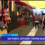Chimbote: San Pedrito, artesanos tuvieron bajas ventas.