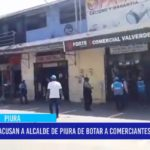 Piur: Acusan a alcalde de Piura de botar a comerciantes de su despacho