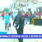Ambulantes: Informales intentan volver a ocupar vía pública
