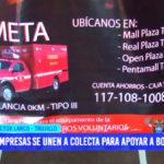 Hermanos de Rojo: empresas se unen a colecta para apoyar a bomberos