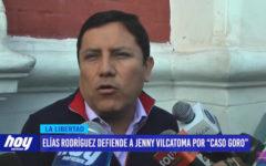"Elías Rodríguez defiende a Jenny Vilcatoma por ""Caso Goro"""