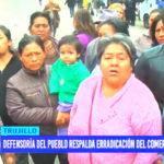 Defensoría del Pueblo respalda erradicación del comercio ambulante