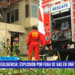 Negligencia: Explosión de balón por fuga de gas causó pánico
