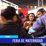 Piura: Feria de maternidad llega a Piura