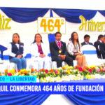 Usquil conmemora 464 años de fundación histórica