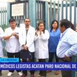 Médicos legistas acatan paro nacional de 48 horas