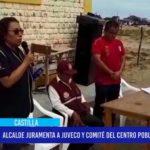 Piura: Alcalde juramenta la JUVECO y comité del centro poblado Cruz de Caña