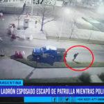 Argentina: ladrón esposado escapó de patrulla mientras policías dormían