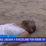 Compatriotas casi linchan a venezolano por robar en vivienda