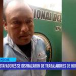Estafadores se disfrazaron de trabajadores de Hidrandina