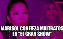 """Marisol, la faraona de la cumbia, declara haber sido maltratada en """"El gran show"""""""
