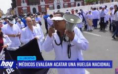 Médicos evalúan acatar una huelga nacional