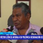 Víctor León se aferra a su polémica designación de asesor en MPT