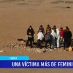 Piura: Feminicidio en Paita