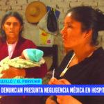 Denuncian presunta negligencia tras ser cesareada