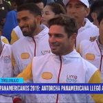 Juegos Panamericanos 2019: antorcha panamericana llegó a Trujillo