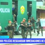 Más de 100 policías resguardán inmediaciones de ex Mayorista