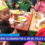 """Niños celebraron por el día del """"Pollo a la brasa"""""""