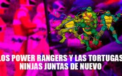 Los Power Rangers y las Tortugas Ninjas en un nuevo comic