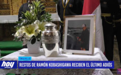 Restos de Ramón Kobashigawa reciben el último adiós