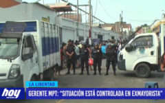 """Gerente MPT: """"Situación está controlada en ex Mayorista"""""""