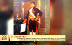 """200 años de libertad: fundan periódico """"Nuevo día del Perú"""""""