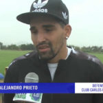 """Alejandro Prieto: """"Mi objetivo va más allá que mantener la categoría"""""""