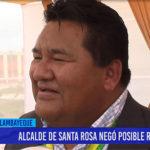 Chiclayo: Alcalde de santa rosa negó posible renuncia
