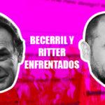Héctor Becerril y César Ritter enfrentados por exámenes toxicológicos