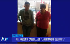 """Chiclayo: Cae presunto cabecilla de """"la hermandad del norte"""""""