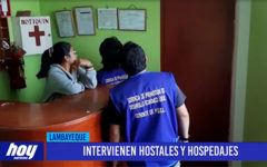 Chiclayo: Intervienen hostales y hospedajes
