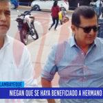 Chiclayo: Niegan que se haya beneficiado a hermano de alcalde