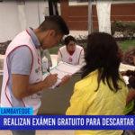 """Chiclayo: Realizan examen gratuito para descartar hepatitis """"C"""""""