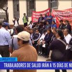 Chiclayo: Trabajadores de salud irán a 15 días de negociaciones