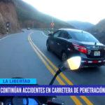 Continúan accidentes en carretera de penetración a la sierra