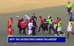 """Brito: """"Real Sociedad sería eliminado tras agresión"""""""