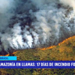 Amazonía de Brasil en llamas, van 17 días de incendio forestal