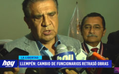 """Manuel Llempén: """"Cambio de funcionarios generó retraso en proyectos"""""""