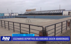 Escenarios deportivos Bolivarianos siguen abandonados