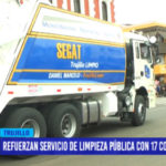 Refuerzan servicio de limpieza pública con 17 compactadoras