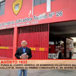 Fundación de la Compañía de Bomberos Salvadora Trujillo N° 26